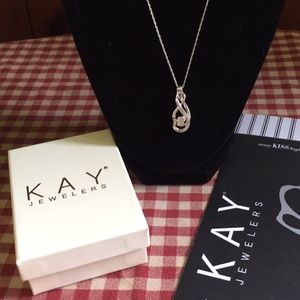 661270c8c Women Kay Jewelers Silver Pendant Necklace on Poshmark